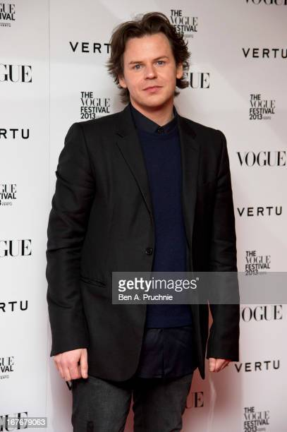 Christopher Kane attends the opening party for The Vogue Festival in association with Vertu at Southbank Centre on April 27, 2013 in London, England.