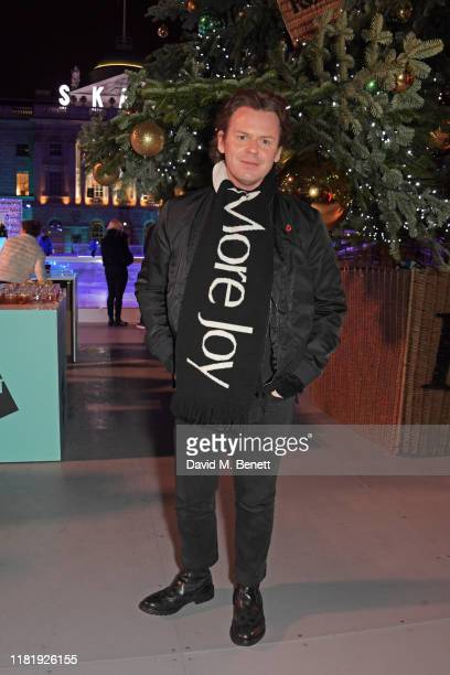 Christopher Kane attends the opening party of Skate at Somerset House on November 12, 2019 in London, England. Celebrating its 20th anniversary,...