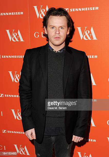 Christopher Kane attends the private view for the 'David Bowie Is' exhibition in partnership with Gucci and Sennheiser at the Victoria and Albert...