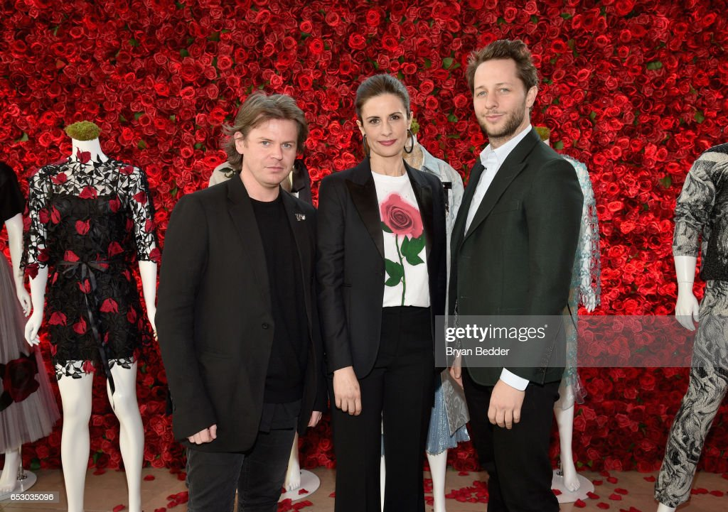 Christopher Kane, Livia Firth and Derek Blasberg were part of a panel discussion on storytelling through fashion inspired by Disney's live action movie Beauty and the Beast, including a new line by designer Christopher Kane, created in collaboration with sustainable brand consultancy, Eco-Age, and Disney. The collection goes on sale on March 16, 2017, at ChristopherKane.com and The Webster.