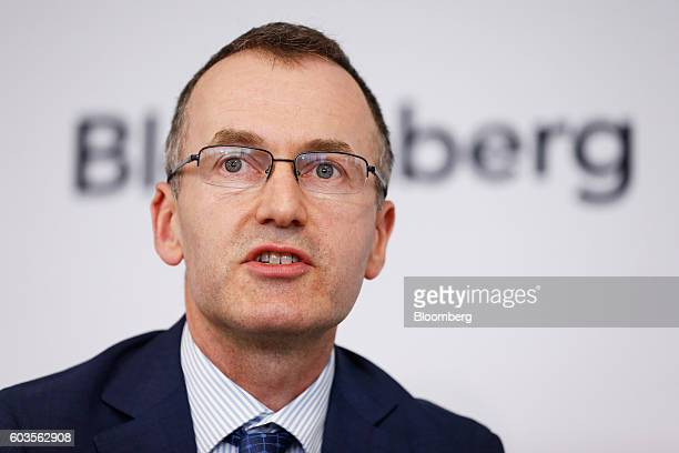 Christopher Kent assistant governor at the Reserve Bank of Australia speaks during the Bloomberg Address in Sydney Australia on Tuesday Sept 13 2016...