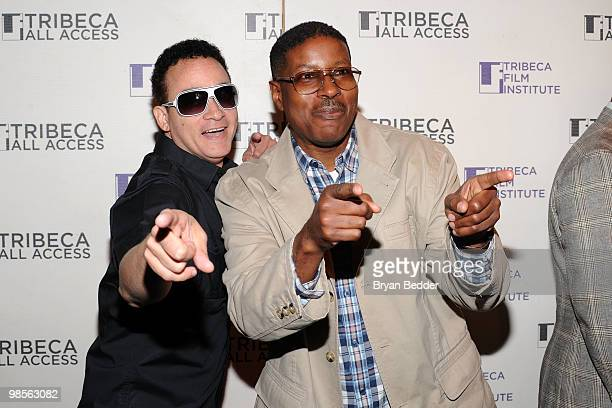 Christopher Kid Reid and Christopher Play Martin of Kid 'N Play attend the Tribeca All Acces kick off during the 2010 Tribeca Film Festival at Hiro...