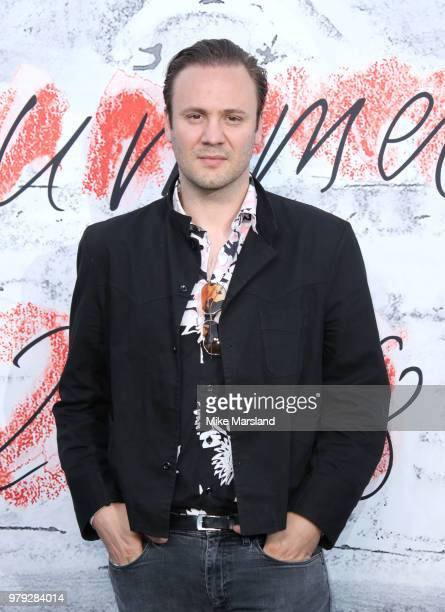 Christopher Kirkwood attends The Serpentine Summer Party at The Serpentine Gallery on June 19 2018 in London England