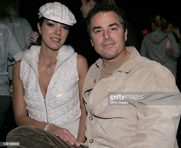 Christopher Knight and Adrianne Curry during MercedesBenz Spring 2006 LA Fashion Week at Smashbox Studios Antik Denim Front Row at Smashbox Studios...