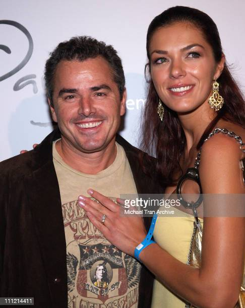 Christopher Knight and Adrianne Curry during Paige Denim Boutique Opening Arrivals at Paige Boutique in Beverly Hills California United States