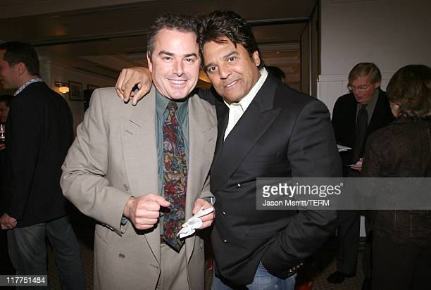 Christopher Knight and Erik Estrada during 2006 TV Land Awards Affiliate Dinner at Shutters on the Beach in Santa Monica California United States