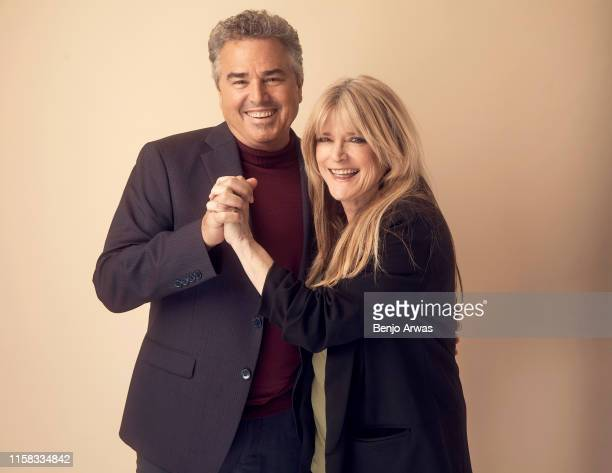 Christopher Knight and Susan Olsen of HGTV's 'A Very Brady Renovation' pose for a portrait during the 2019 Summer TCA Portrait Studio at The Beverly...