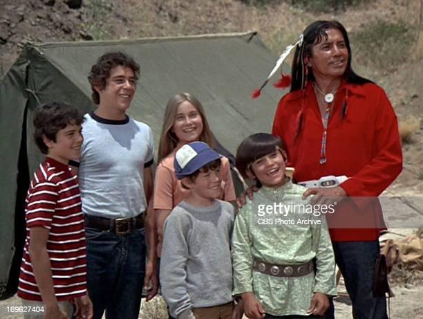 Christopher Knight as Peter Brady Barry Williams as Greg Brady Maureen McCormick as Marcia Brady Mike Lookinland as Bobby Brady Michele Campo as...