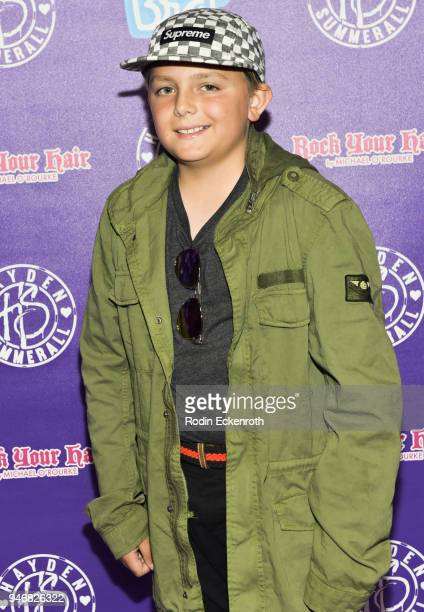 Christopher Krause attends Hayden Summerall's 13th Birthday Bash at Bardot on April 15 2018 in Hollywood California