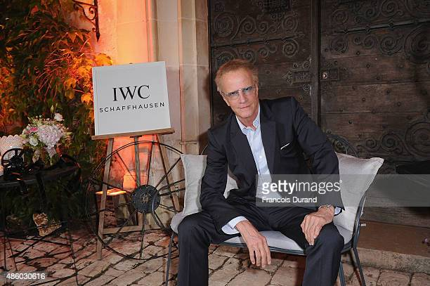 Christopher Lambert attends the closing dinner hosted by IWCduring the Festival du Film Francophone d'Angouleme on August 30 in Angouleme France