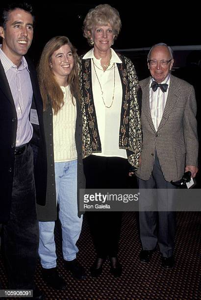 Christopher Lawford Robin Lawford Arthur M Schlesinger Jr and wife Alexandra