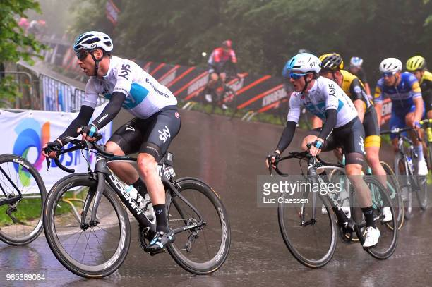 Christopher Lawless of Great Britain and Team Sky / during the 3rd Velon Hammer Series 2018 Stage 1 a 77km race from Vaals to Drielandenpunt 327m /...