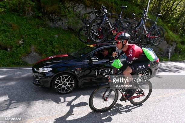 Christopher Lawless of United Kingdom and Team INEOS / Feed Zone / Car / during the 9th Tour of Norway 2019 Stage 2 a 174km stage from Kvinesdal to...