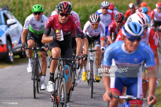 Christopher Lawless of United Kingdom and Team INEOS / Feeding / during the 83rd Bretagne Classic OuestFrance 2019 a 2481km stage from Plouay to...
