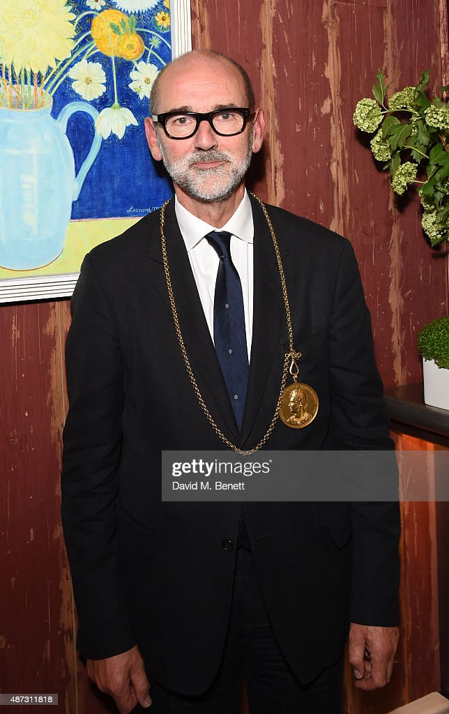 Christopher Le Brun attends the launch of the Academicians' Room private members club in The Keeper's House at The Royal Academy of Arts on September 8, 2015 in London, England.