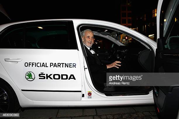 Christopher Lee attends the Cinema For Peace Gala at Konzerthaus Am Gendarmenmarkt on February 9 2015 in Berlin Germany