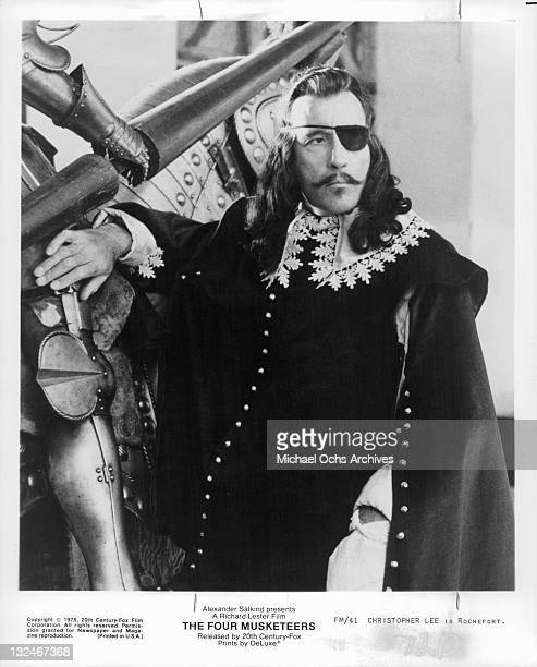 Christopher Lee is Rochefort in a scene from the film 'The Four Musketeers' 1975
