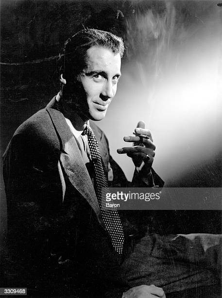 Christopher Lee the distinguished British 'horror' actor