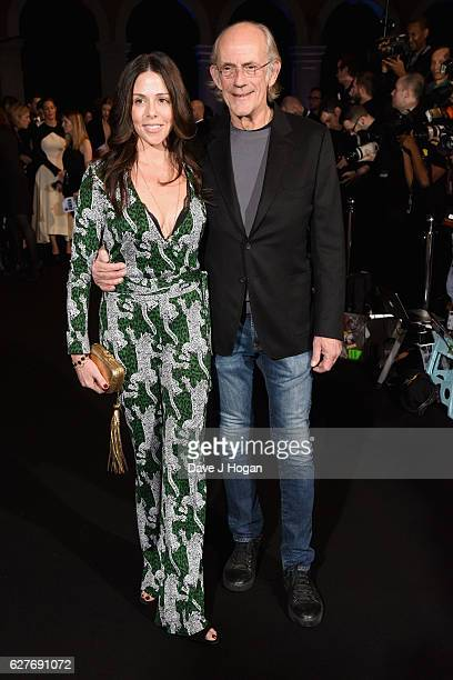 Christopher Lloyd and Lisa Loiacono attend The British Independent Film Awards at Old Billingsgate Market on December 4 2016 in London England
