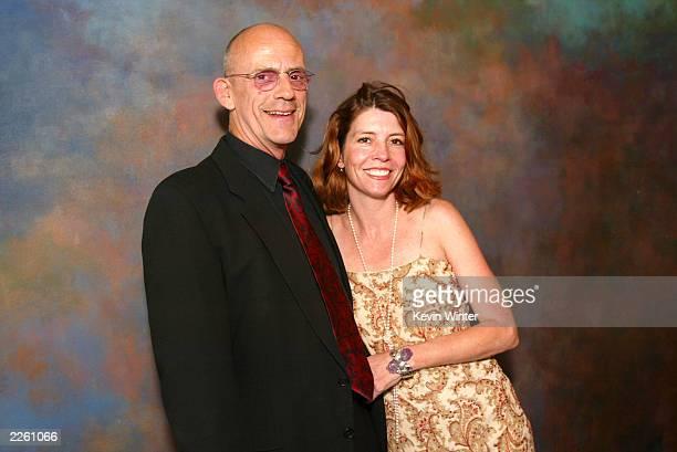 Christopher Lloyd and wife Jane Walker Wood at Viva La Festival a gala fundraiser for the Santa Barbara International Film Festival at the Bacara...