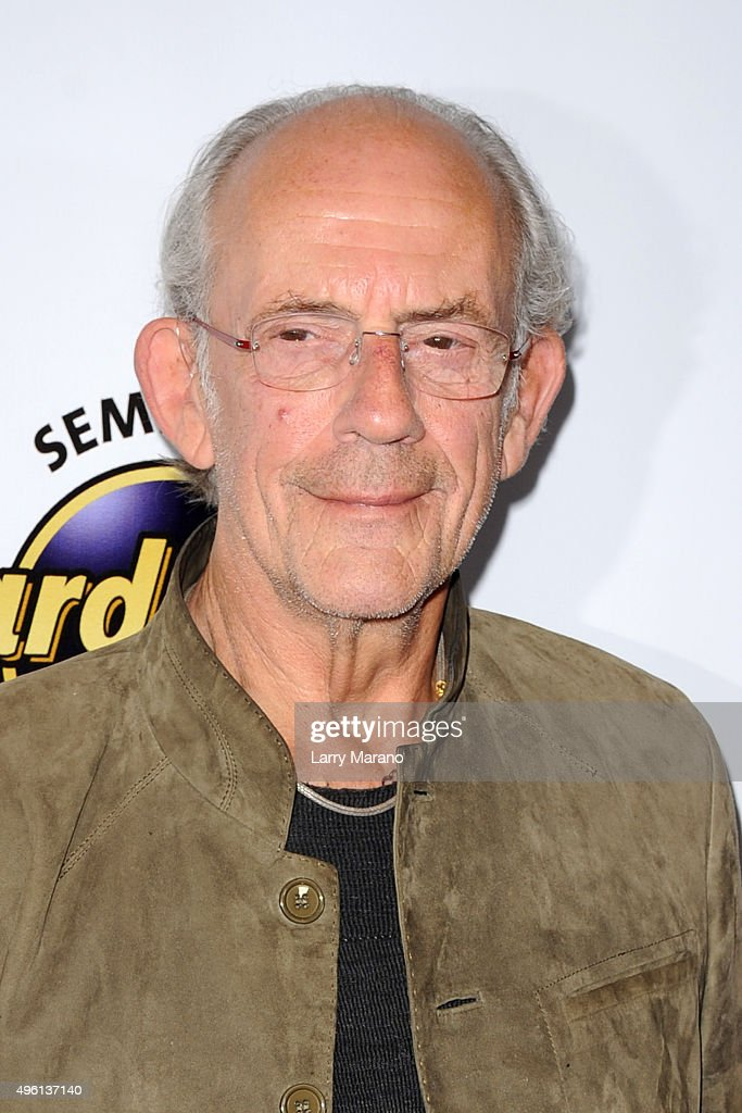 Christopher Lloyd attends the Fort Lauderdale International Film Festival - Opening Night at Seminole Hard Rock Hotel on November 6, 2015 in Hollywood, Florida.
