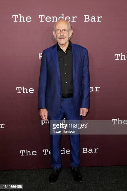 """Christopher Lloyd attends the Los Angeles Premiere of """"The Tender Bar"""" presented by Amazon Studios at DGA Theater Complex on October 03, 2021 in Los..."""