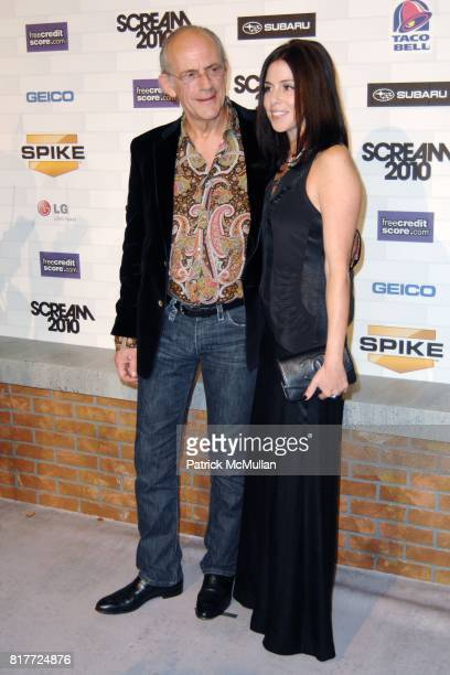 Christopher Lloyd Jane Walker Wood attend Spike TV's SCREAM 2010 at The Greek Theatre on October 16 2010 in Griffith Park California