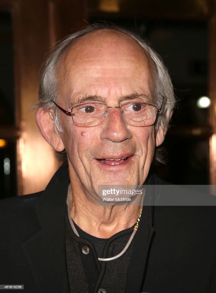 "Christopher Lloyd Leaves The Backstage ""Taxi"" Cast Reunion"