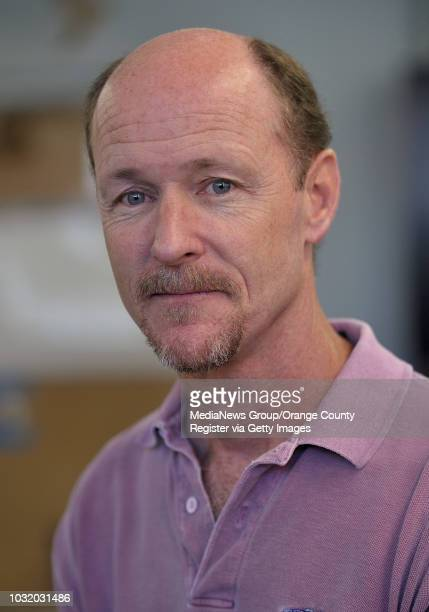 BEACH CALIF USA Christopher Lowe a professor of marine biology at Cal State Long Beach in his shark lab on July 19 2011 Lowe and a group of his...