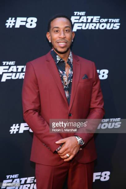 Christopher 'Ludacris' Bridges attends 'The Fate of the Furious' Atlanta Screening at SCAD Show on April 4 2017 in Atlanta Georgia