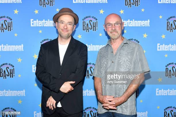 Christopher Markus and Jim Starlin attend Entertainment Weekly's ComicCon Bash held at FLOAT Hard Rock Hotel San Diego on July 20 2019 in San Diego...
