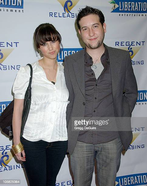 Christopher Marquette and Diane Gaeta during Stephanie Daley Los Angeles Screening Arrivals at Regent Showcase Theatre in Hollywood California United...