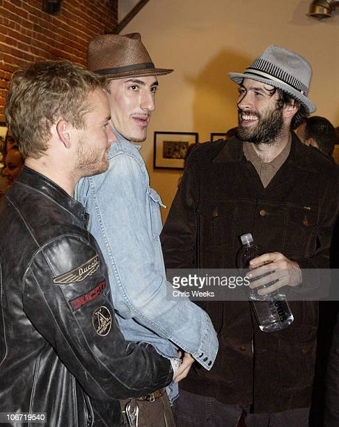 Christopher Masterson Eric Balfour and Jason Lee *Exclusive*