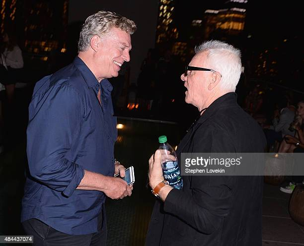 Christopher McDonald and Malcom McDowell attend the after party for a screening of Sony Pictures Classics' 'Grandma' hosted by The Cinema Society...