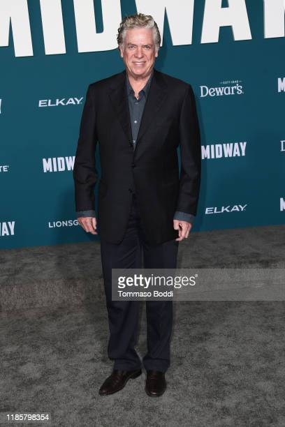 Christopher McDonald attends the Premiere Of Lionsgate's Midway at Regency Village Theatre on November 05 2019 in Westwood California