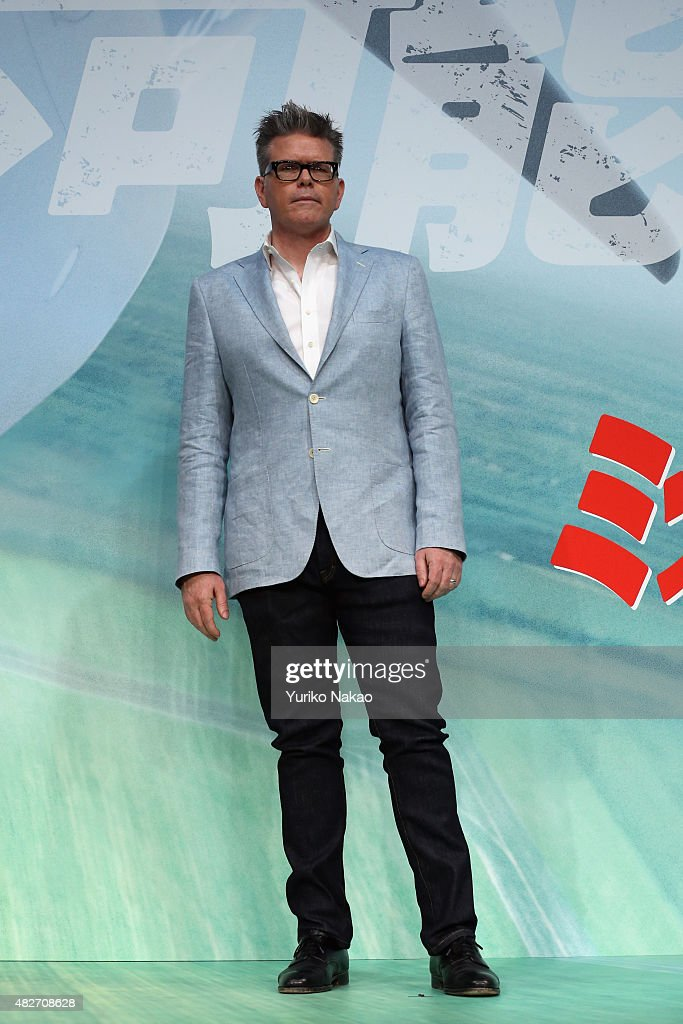 Christopher McQuarrie attends the Japan Press Conference of 'Mission: Impossible - Rogue Nation' at the Peninsula Hotel Ballroom on August 2, 2015 in Tokyo, Japan.