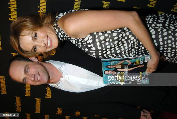 Christopher Meloni and Mariska Hargitay at the 11th Annual Entertainment Weekly Oscar Viewing Party at Elaine's
