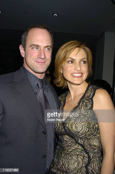 Christopher Meloni and Mariska Hargitay during NYC and Company Honors Leaders in Tourism at The Museum of Modern Art in New York City New York United...