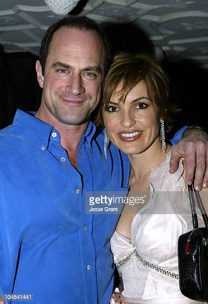 Christopher Meloni and Mariska Hargitay during Wolf Films Company Party at House of Blues Sunset Strip at House of Blues Sunset Strip in West...