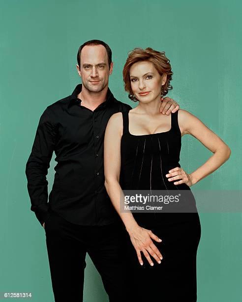 Christopher Meloni and Mariska Hargitay