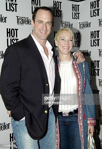 Christopher Meloni and Sherman Williams during 2005 Conde Nast Traveler Hot List Party at Megu in New York City New York United States