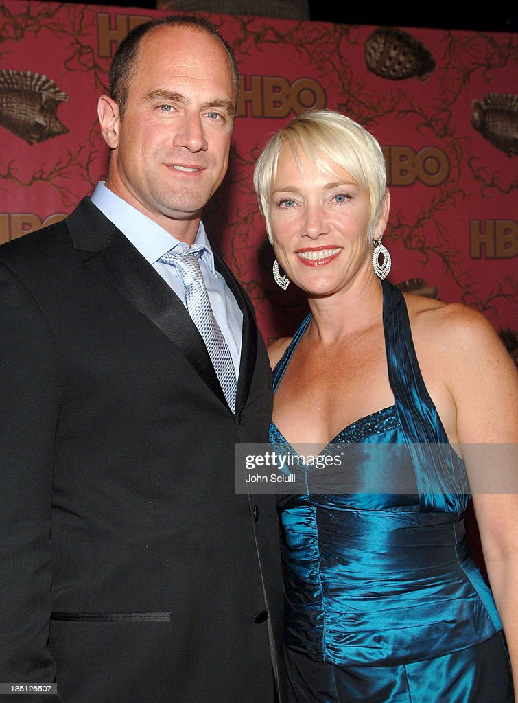 Christopher Meloni and wife Sherman during 58th Annual Primetime Emmy Awards - HBO After Party - Red Carpet and Inside at Pacific Design Center in West Hollywood, California, United States.