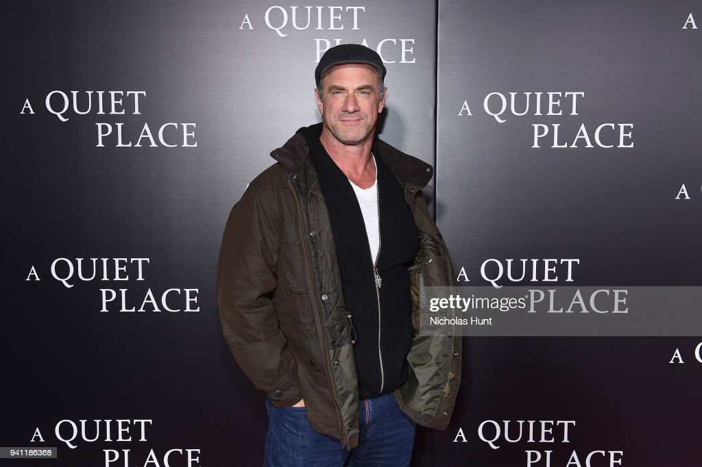 Christopher Meloni attends the Paramount Pictures New York Premiere of 'A Quiet Place' at AMC Lincoln Square theater onApril 2, 2018 in New York, New York.