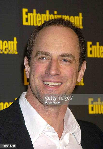 Christopher Meloni during Entertainment Weekly 11th Annual Oscar Viewing Party at Elaines Restaurant in New York City New York United States