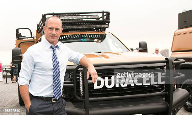 Christopher Meloni joins Duracell on the National Day of Action - in announcing disaster relief expansion programam in Battery Park on September 30,...