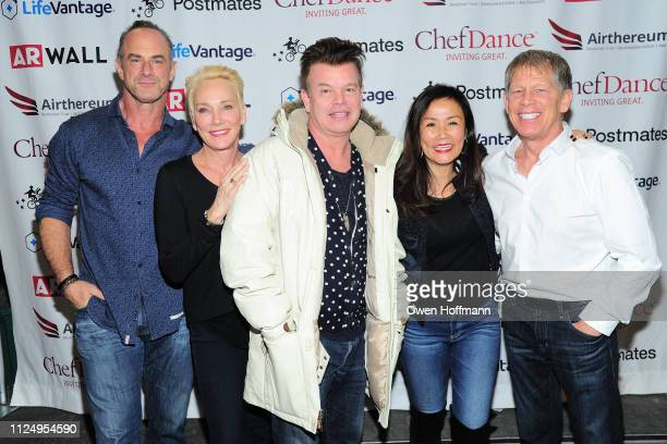 Christopher Meloni Sherman Williams Paul Oakenfold Mimi Kim and Kenny Griswold attends ChefDance 2019 Day 1 on January 25 2019 in Park City Utah