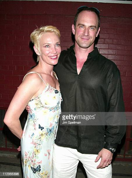 Christopher Meloni wife Sherman during Entertainment Weekly's 1st Annual IT List Party at Milk Studios in New York City New York United States