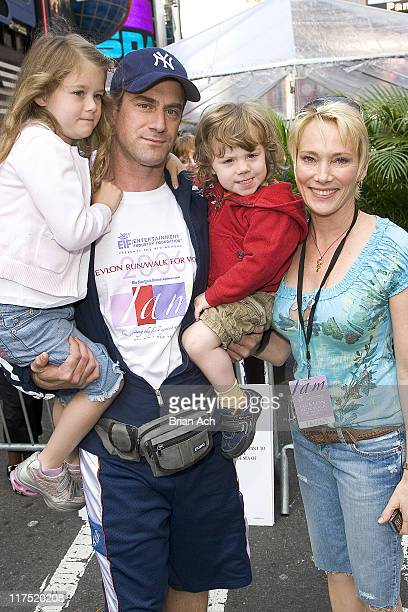 Christopher Meloni with Sophia Amadeo and Dante Amadeo and wife Sherman Williams