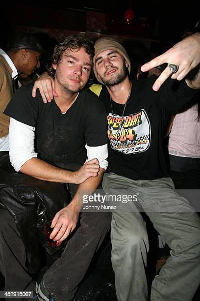 Christopher Meyers and Adam Lavorgna during Bow Wow The Price of Fame Album Release Party Hosted By Bow Wow and The Distinguished Group December...