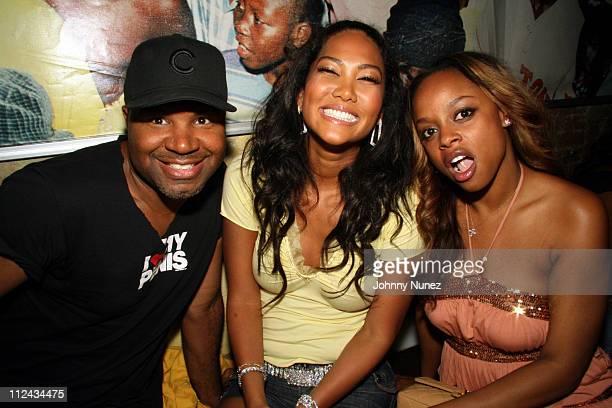 Christopher Michael,Kimora Lee Simmons and Keesha Johnson
